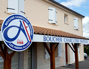 Identité visuelle boucherie Visual identity of butcher