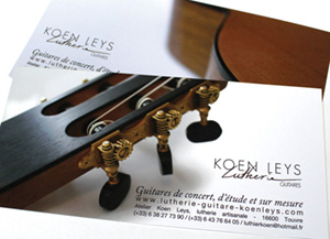 Identité visuelle lutherie Logo of luthier