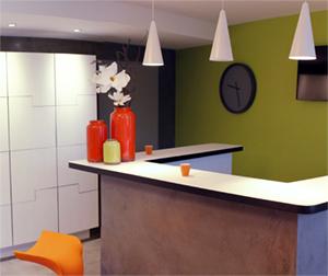 Aménagement espace de vente Furnishing of the sales offices