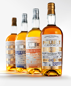 Packaging cognac Packaging for Philbert Cognac