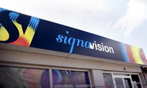 Enseigne Signavision brand