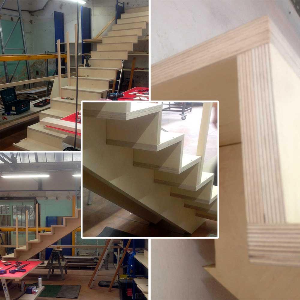 escalier contre-plaqué Blomkal 5070 Marielle Tesson