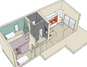 Aménagement d'une Tiny House