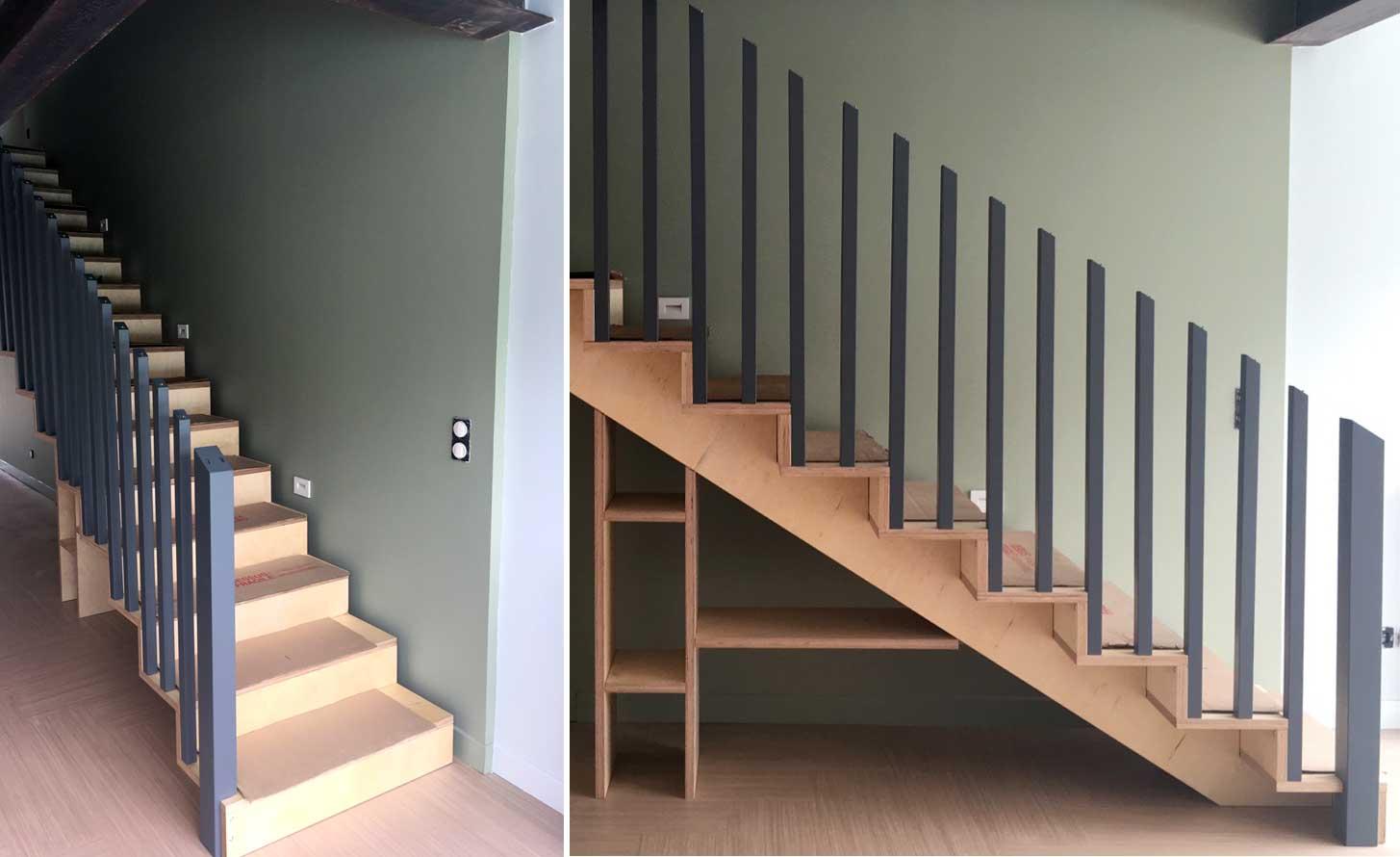 pose escalier Blomkal