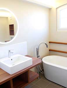Aménagement et extension d'une salle de bains