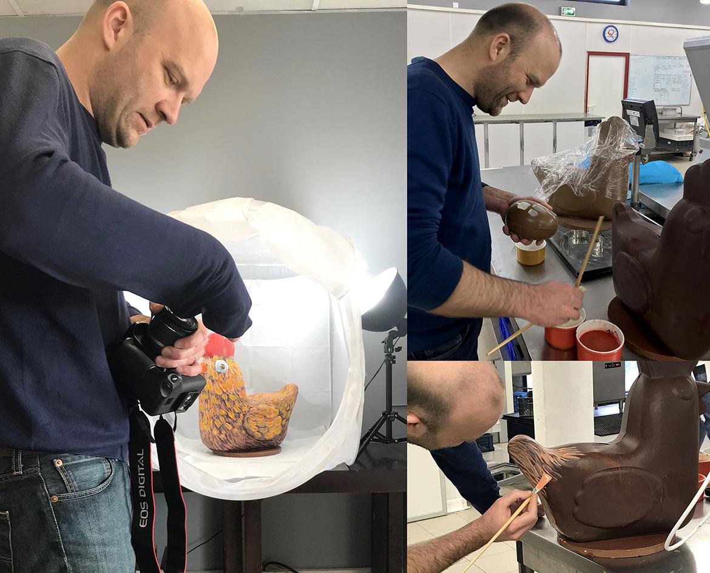Préparation Pâques Blénews