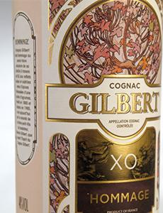 Habillage Cognac Gilbert XO Hommage