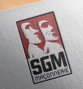 Identité visuelle SGM maçonnerie